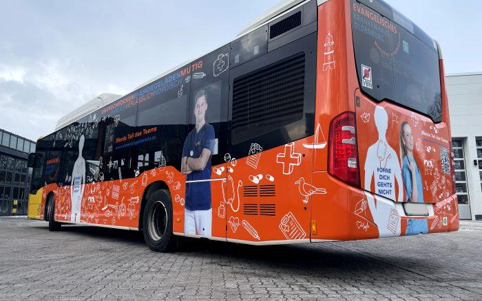 Buswerbung, Oldenburg, Wenig Werbung